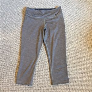 Nike dry fit work out capris